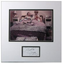 Yootha Joyce & Brian Murphy Autograph Signed Display - George & Mildred
